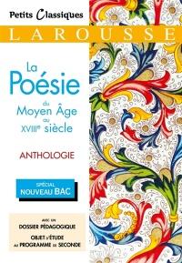 La Poésie Au Moyen Age : poésie, moyen, Poésie,, Moyen, XVIIIe, Siècle,, Anthologie, Littérature, Poésie, Leslibraires.ca