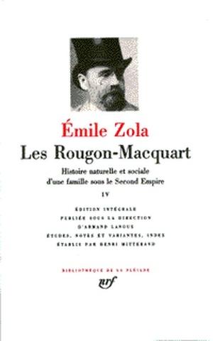 Emile Zola Les Rougon Macquart : emile, rougon, macquart, Rougon-Macquart, Histoire, Naturelle, Sociale, D'une, Famille, Émile, Zola,, Henri, Mitterand, Leslibraires.ca