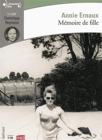 Mémoire De Fille Annie Ernaux : mémoire, fille, annie, ernaux, Mémoire, Fille, (3h30), Annie, Ernaux, Livre, Audio, Littérature, Leslibraires.ca