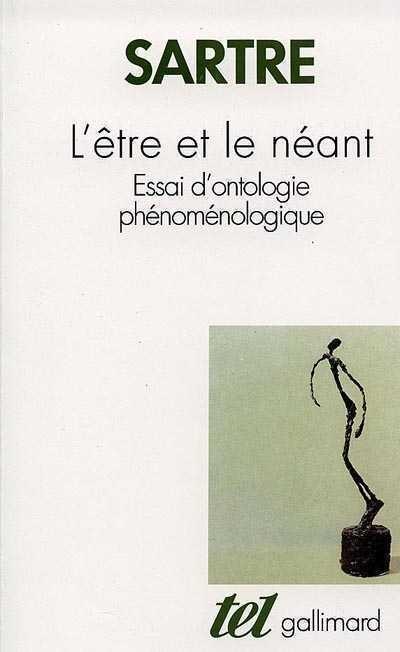 L'être Et Le Néant Sartre : l'être, néant, sartre, Être, Néant, Jean-Paul, Sartre, Essais, Philosophie/, Métaphysique, Leslibraires.ca