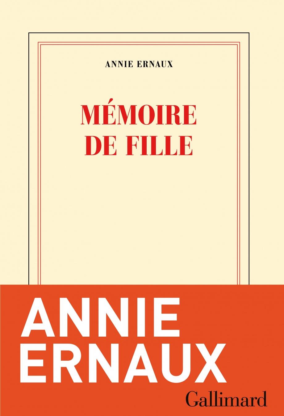 Mémoire De Fille Annie Ernaux : mémoire, fille, annie, ernaux, Mémoire, Fille, Annie, Ernaux, Biographies, Faits, Vécus/Bio, Divers, Leslibraires.ca