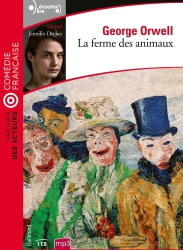 La Ferme Des Animaux Livre Audio : ferme, animaux, livre, audio, Ferme, Animaux, (3h00), George, Orwell, Livre, Audio, Littérature, Leslibraires.ca