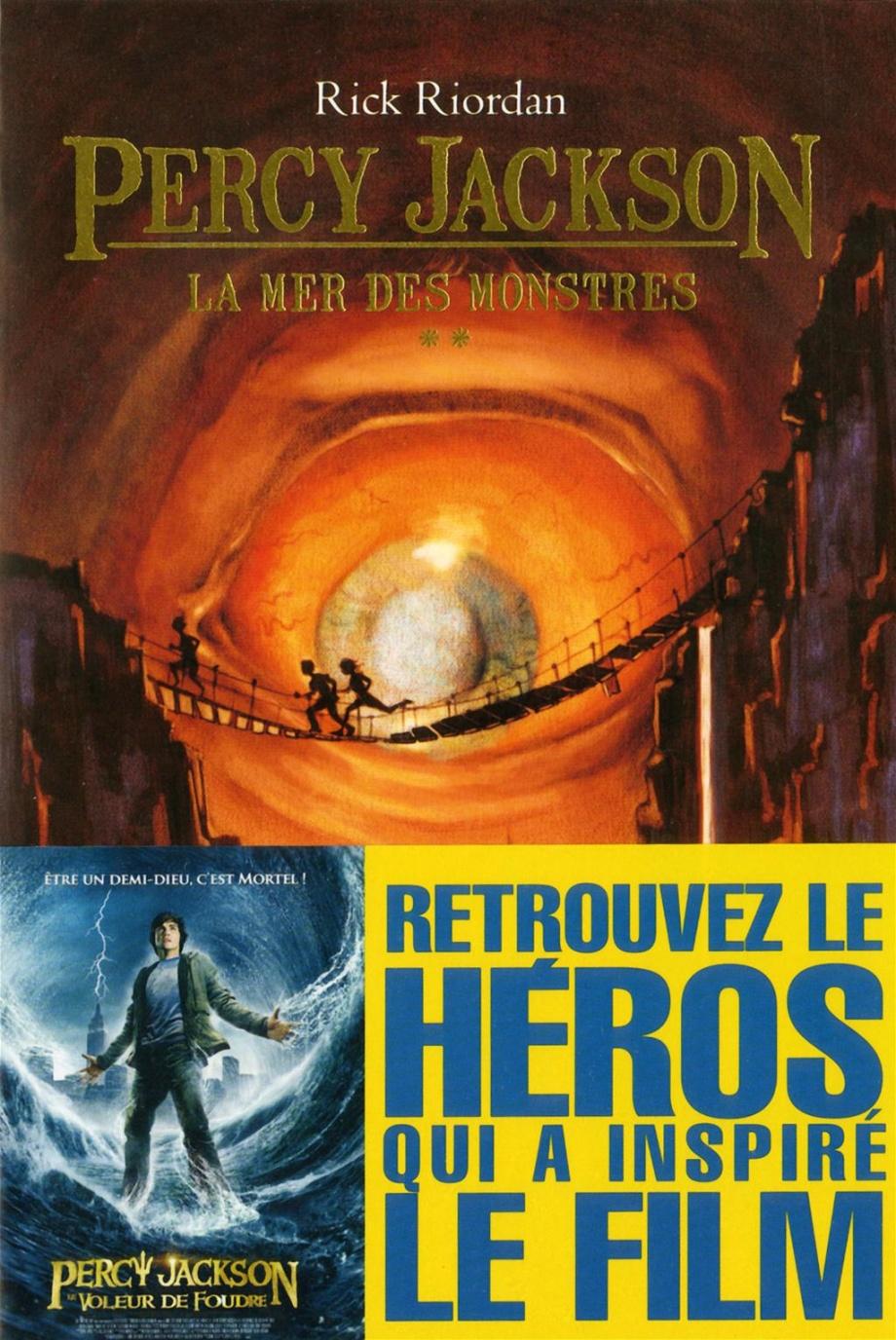 Percy Jackson La Mer Des Monstres : percy, jackson, monstres, Percy, Jackson, Monstres, Riordan, Jeunesse, Romans, 10-14, Leslibraires.ca