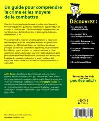 La Criminologie Pour Les Nuls : criminologie, Criminologie, Alain, Bauer,, Christophe, Soullez, Leslibraires.ca