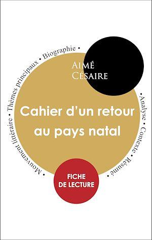 Cahier D'un Retour Au Pays Natal Analyse : cahier, retour, natal, analyse, Livres, Aimé, Césaire, Achat, Papier, Numérique