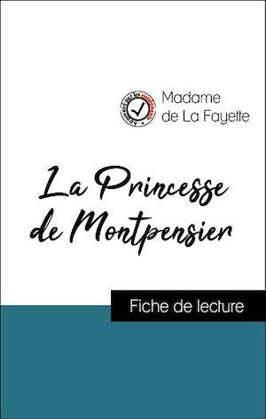 Quiz La Princesse De Montpensier : princesse, montpensier, Analyse, L'œuvre, Princesse, Montpensier, (résumé, Fiche, Lecture, Plébiscités, Enseignants, Fichedelecture.fr), Madame, Fayette, Leslibraires.ca