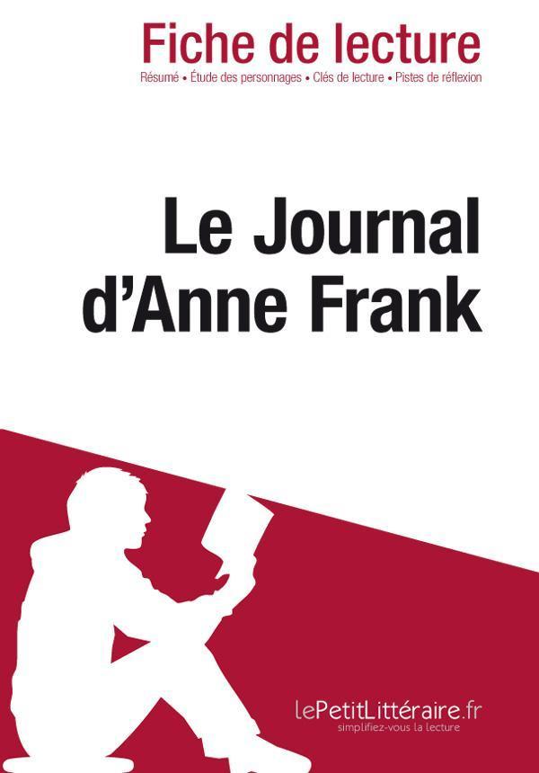 Resume Le Journal D Anne Frank : resume, journal, frank, Journal, D'Anne, Frank, (Fiche, Lecture), Florence, Meurée, Leslibraires.ca
