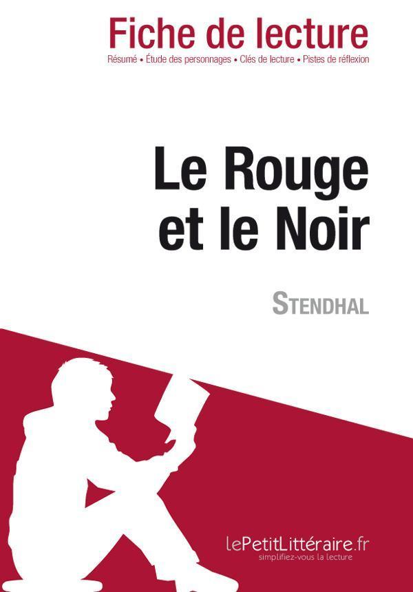Le Rouge Et Le Noir Fiche De Lecture : rouge, fiche, lecture, Rouge, Stendhal, (Fiche, Lecture), Vincent, Jooris, Leslibraires.ca