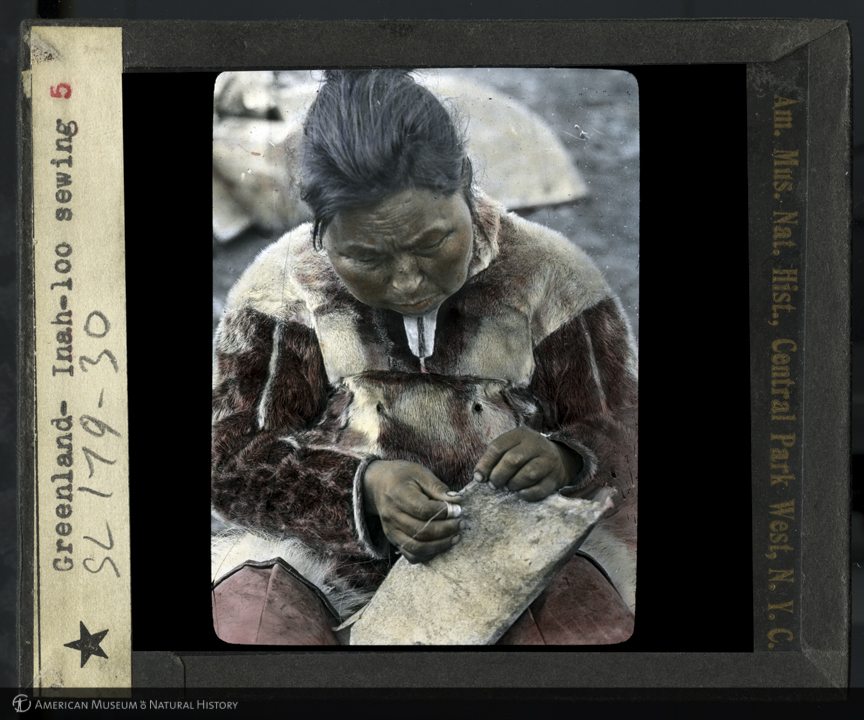 ID: LS179-30<br>Inah-loo sewing, Greenland