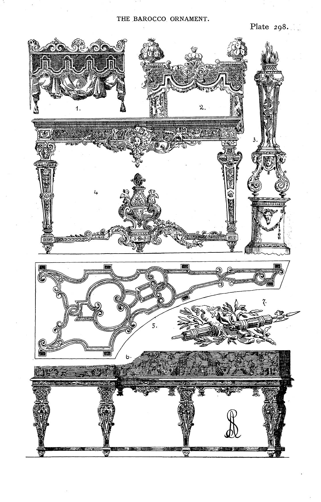 Decorative Arts: Styles of ornament : exhibited in designs
