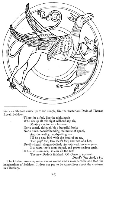 History of Science: The book of beasts: I. Beasts