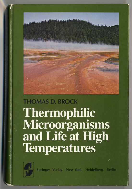 Thermophilic microorganisms, book cover