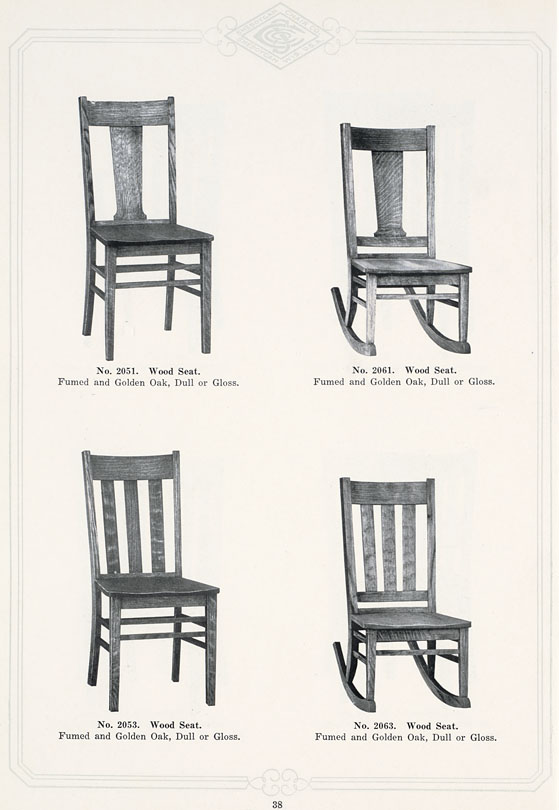 The State Sheboygan Chair Company 19271928 Square