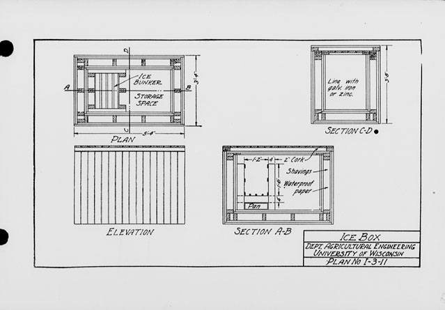 Woodwork Ice Box Plans PDF Plans