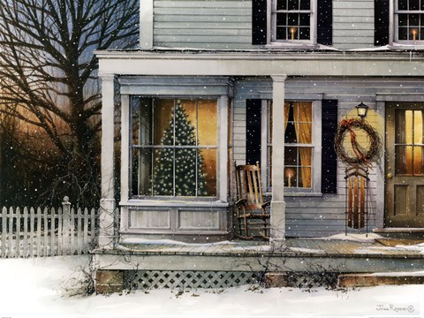 December Glow by John Rossini