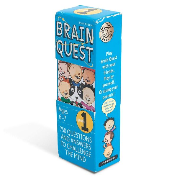 1st Grade Brain Quest Game Lillian Vernon