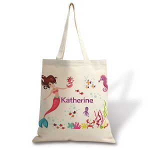 kids personalized canvas tote
