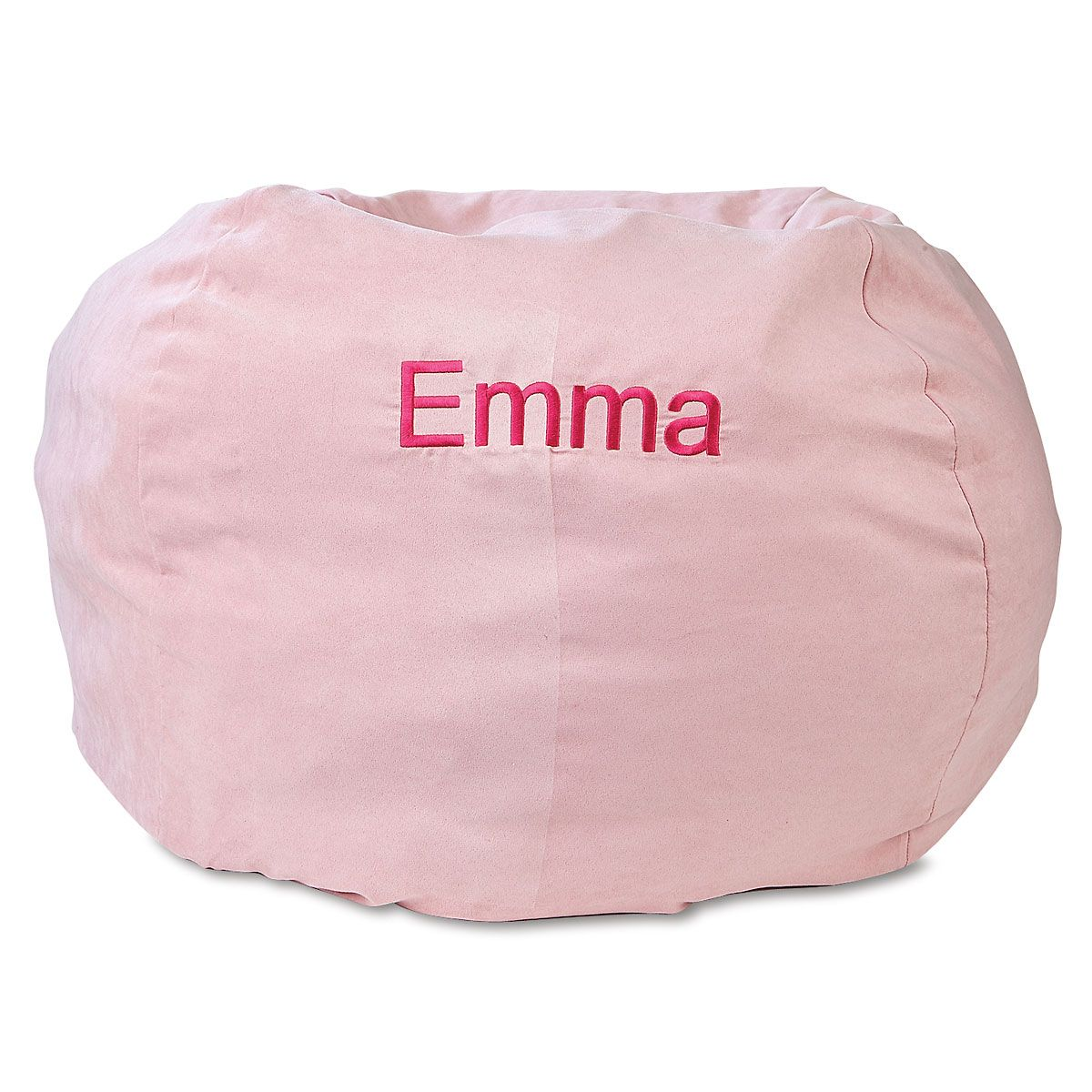 bing bag chairs grey mesh office chair personalized bean for kids lillian vernon pink