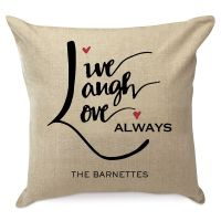 Love Arrow Personalized Pillow