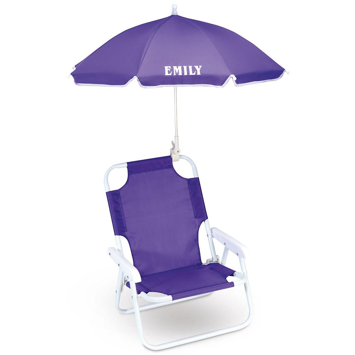 Child Beach Chair Umbrella Beach Chair For Kids Lillian Vernon