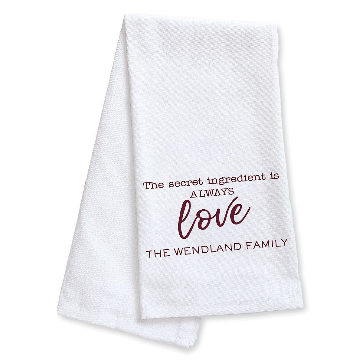 personalized kitchen towels what color cabinets for a small towel lillian vernon