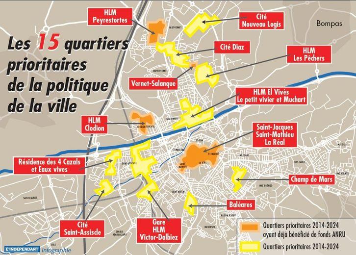 Politique de la ville  le jackpot pour les quartiers de Perpignan  18062014  lindependantfr