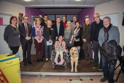Official supply of an help canine to its beneficiary