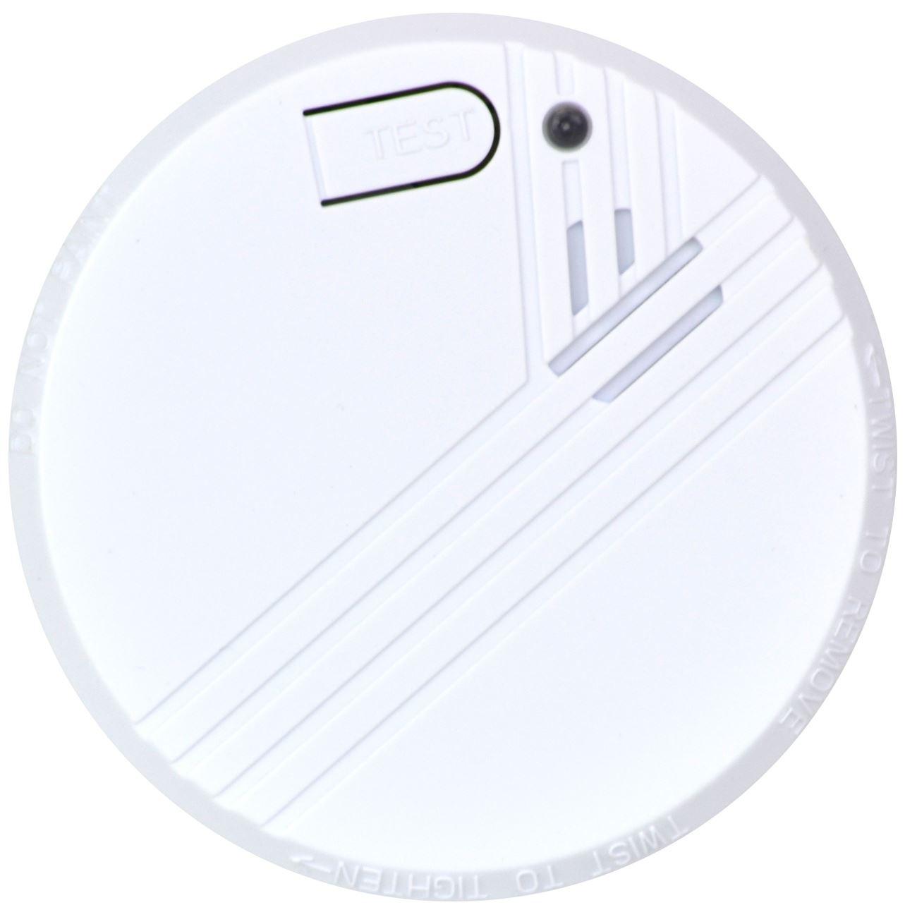 Aa Photoelectric Smoke Fire Alarm Detectors Batteries