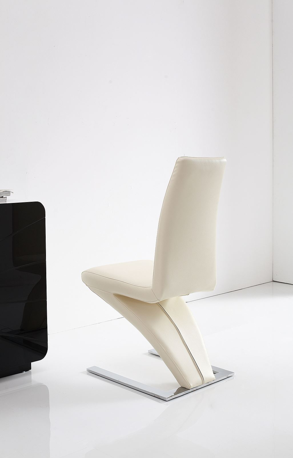 ivory dining chairs uk types of wedding z faux leather room kitchen furniture