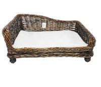 Brown Large Big Huge XL Dogs Wicker Pet Bed Basket Seat ...