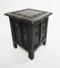 Beautiful Antique Effect Hand Carved Indian Wooden Table ...