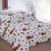 XMAS DUVET COVER WITH PILLOW CASE NOVELTY REINDEER ...