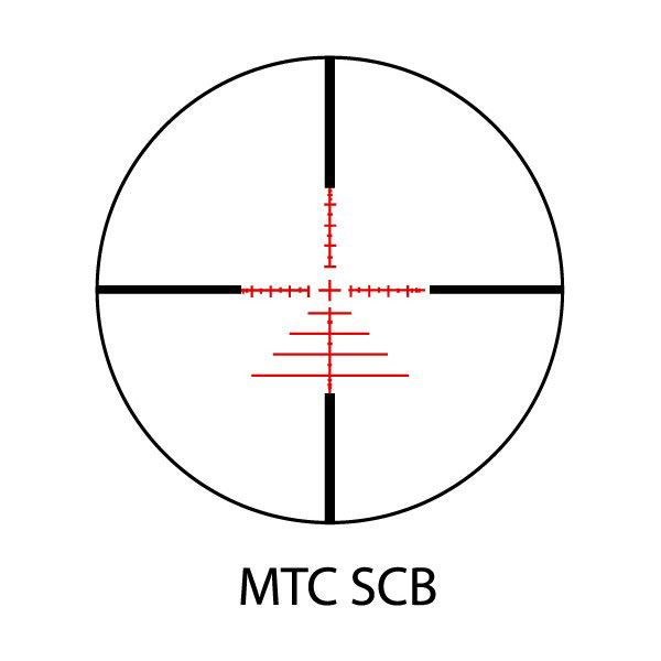 MTC Viper Connect 3-12 X 32 Illuminated Reticle Air Rifle