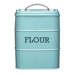 Kitchen Containers Undermount Stainless Steel Sinks Living Nostalgia Flour Canister Storage Jar