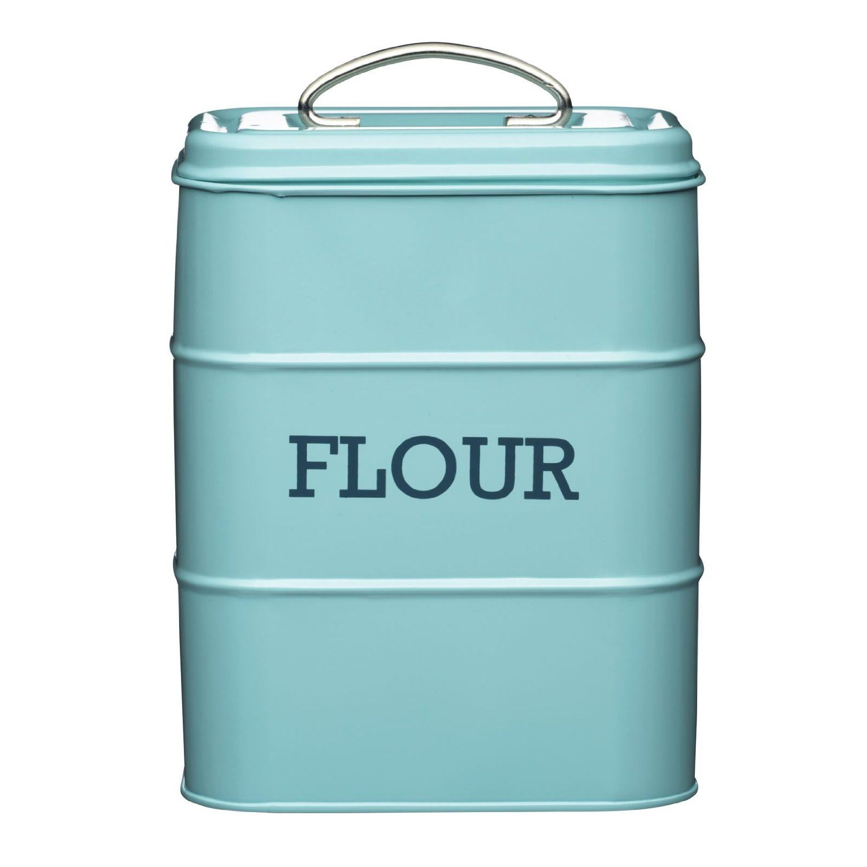 kitchen containers appliance bundle living nostalgia flour canister storage jar