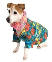 Luau Hula Pet Hawaiian Shirt Dog Cat Animal Apparel Top ...