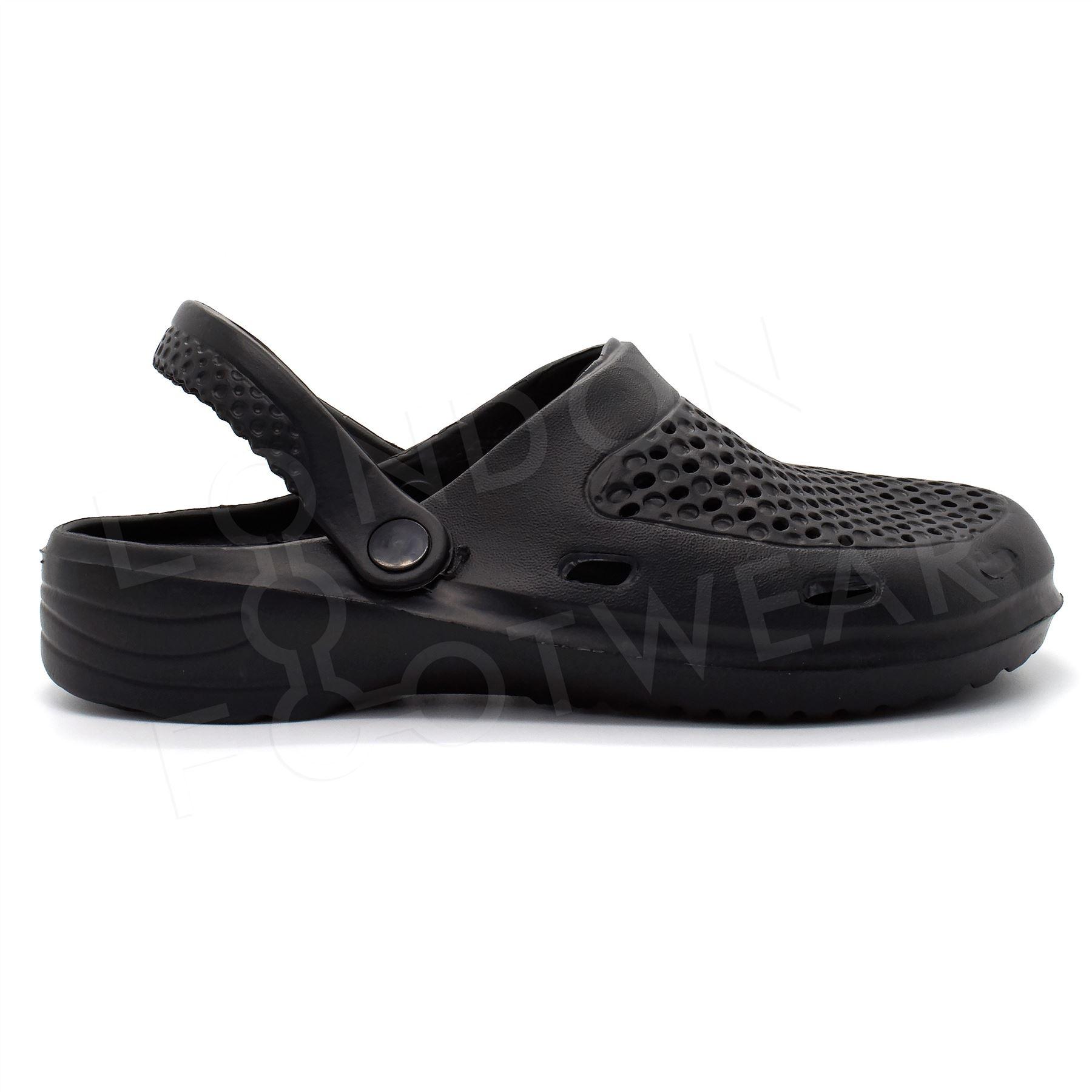kitchen shoes for men washable runners new mens clogs slip on garden hospital