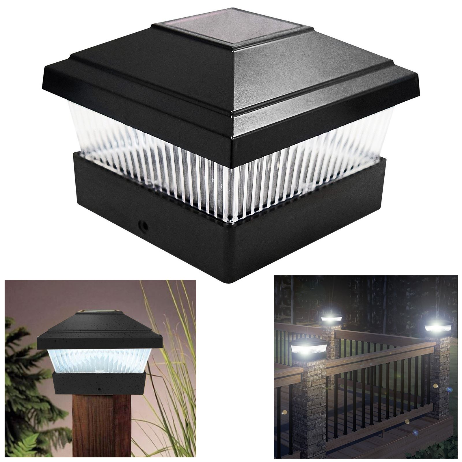 Solar Deck Wall Lights