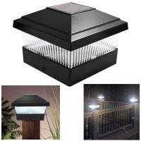 Solar LED Powered Light Garden Deck Cap Outdoor Decking ...
