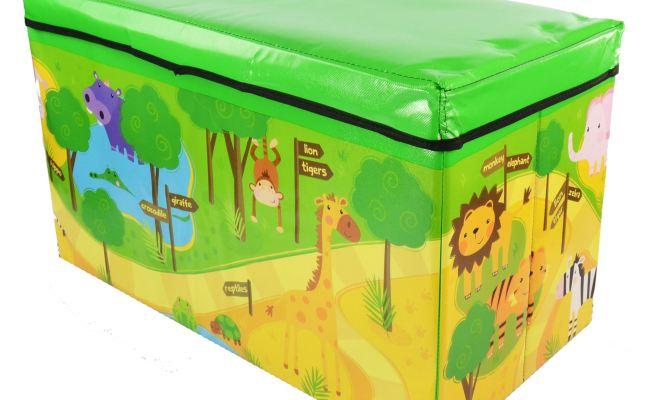 Kids Childrens Large Storage Toy Box Boys Girls Books