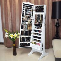 Jewellery Jewelry Storage Box Cabinet Organiser Armoire ...