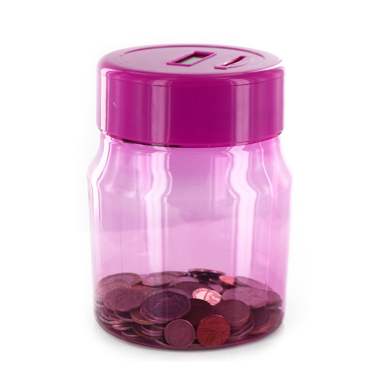 New Electronic Digital Coin Counting Savings Money Bank