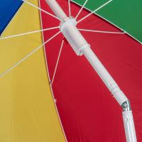 Tilting Beach Garden Patio Umbrella Tilt Parasol Sun Shade ...