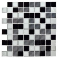 Self-Adhesive Mosaic Tile Stickers Bathroom Kitchen ...