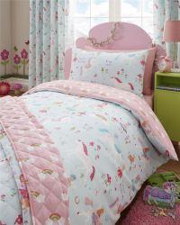 Magical Unicorn Duvet Cover Girls Kids Bedroom Reversible ...