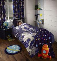 Catherine Lansfield Astronaut Spaceman Space Boys Bedding ...