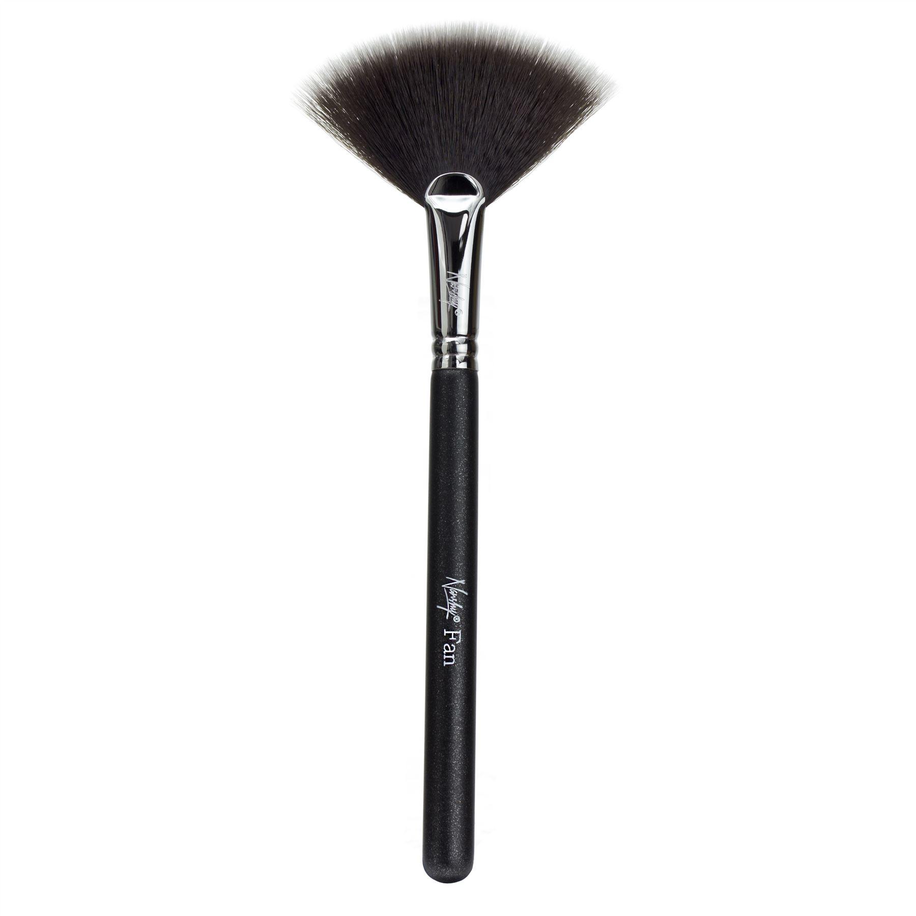 Nanshy Fan Makeup Brushes Soft Synthetic Taklon Bristles