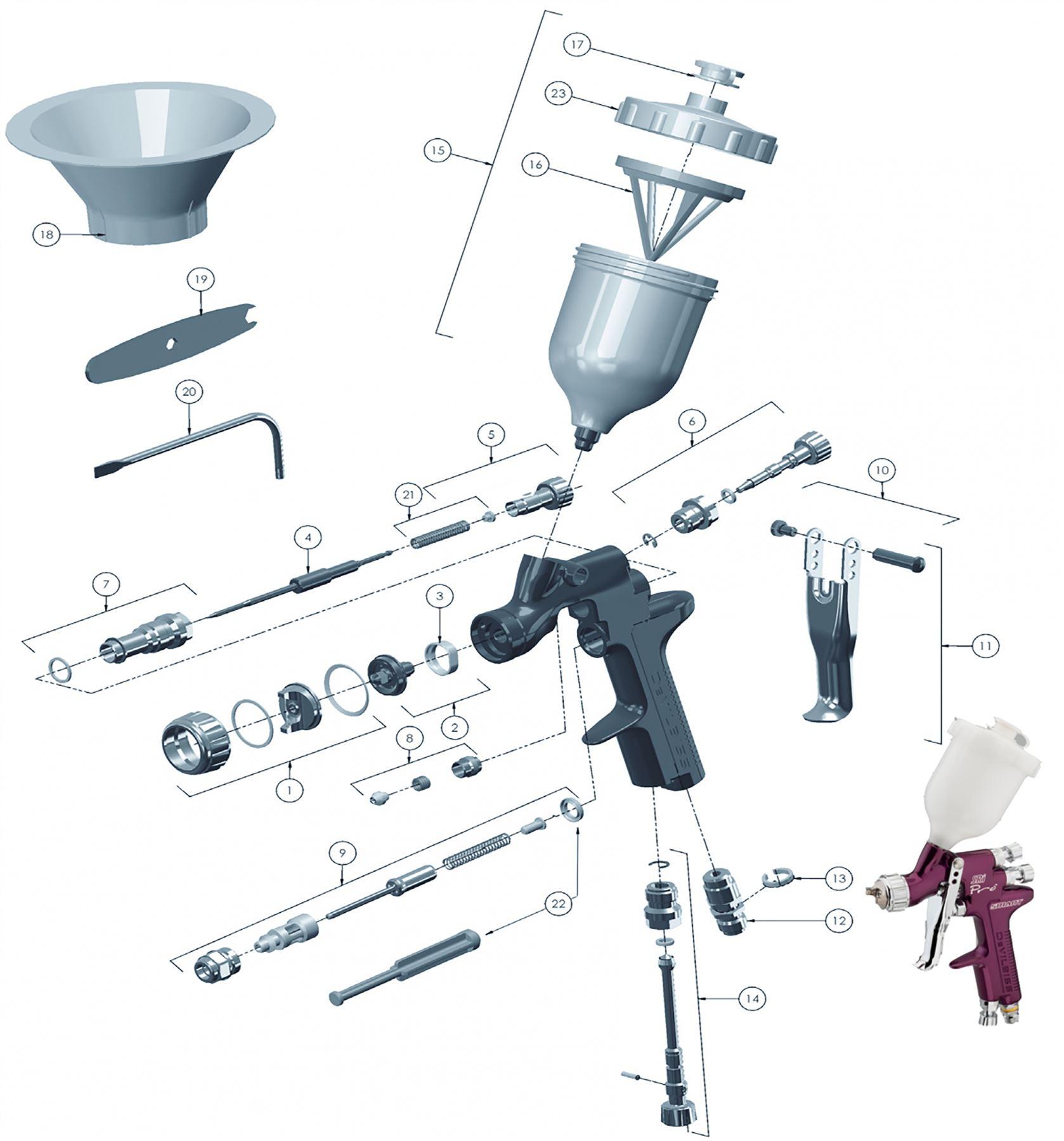 devilbiss spray gun parts diagram johnson 115 outboard wiring gti