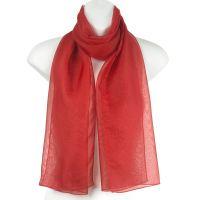 Plain Women Lady Chiffon Soft Neck Shawl Stole Wrap Scarf ...