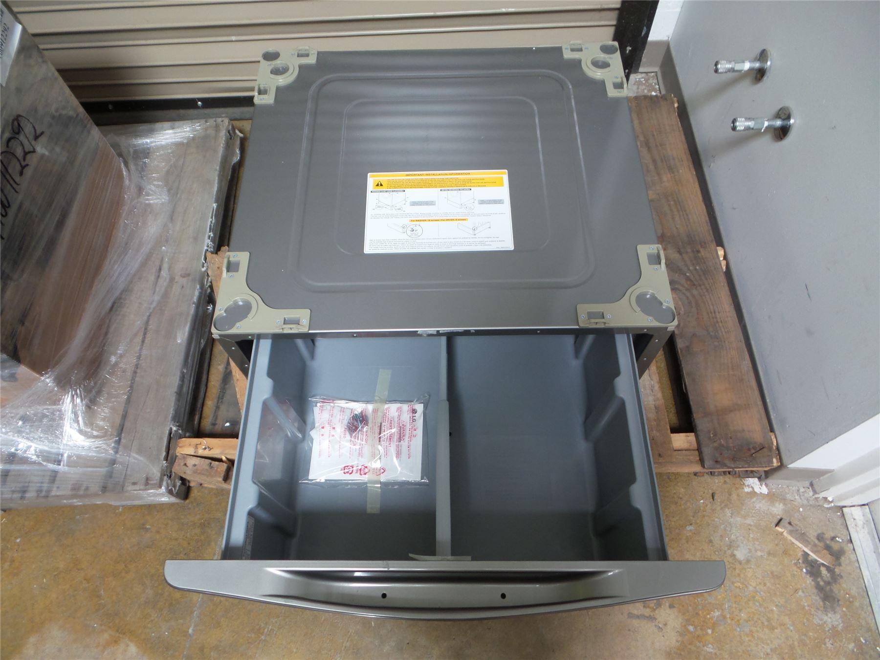 Lg Washer Dryer 29 Laundry Pedestal W Storage Drawer